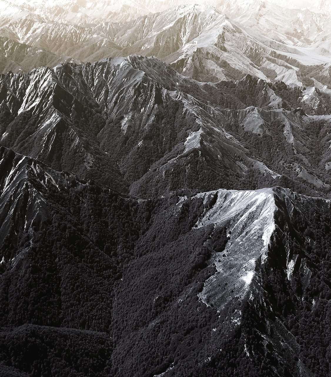 Patterns In The Southern Alps