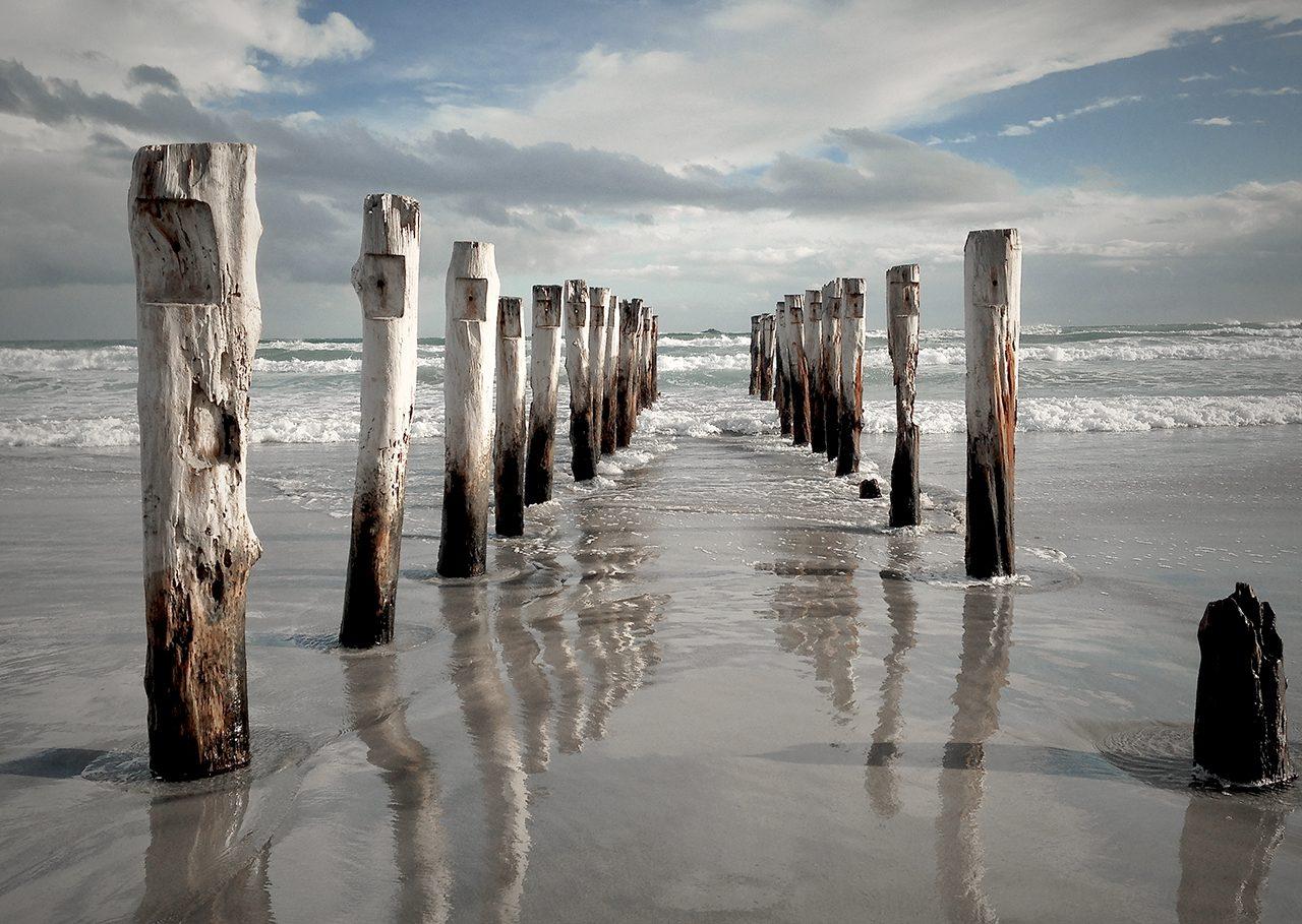 Saint Clair Beach Iconic Poles