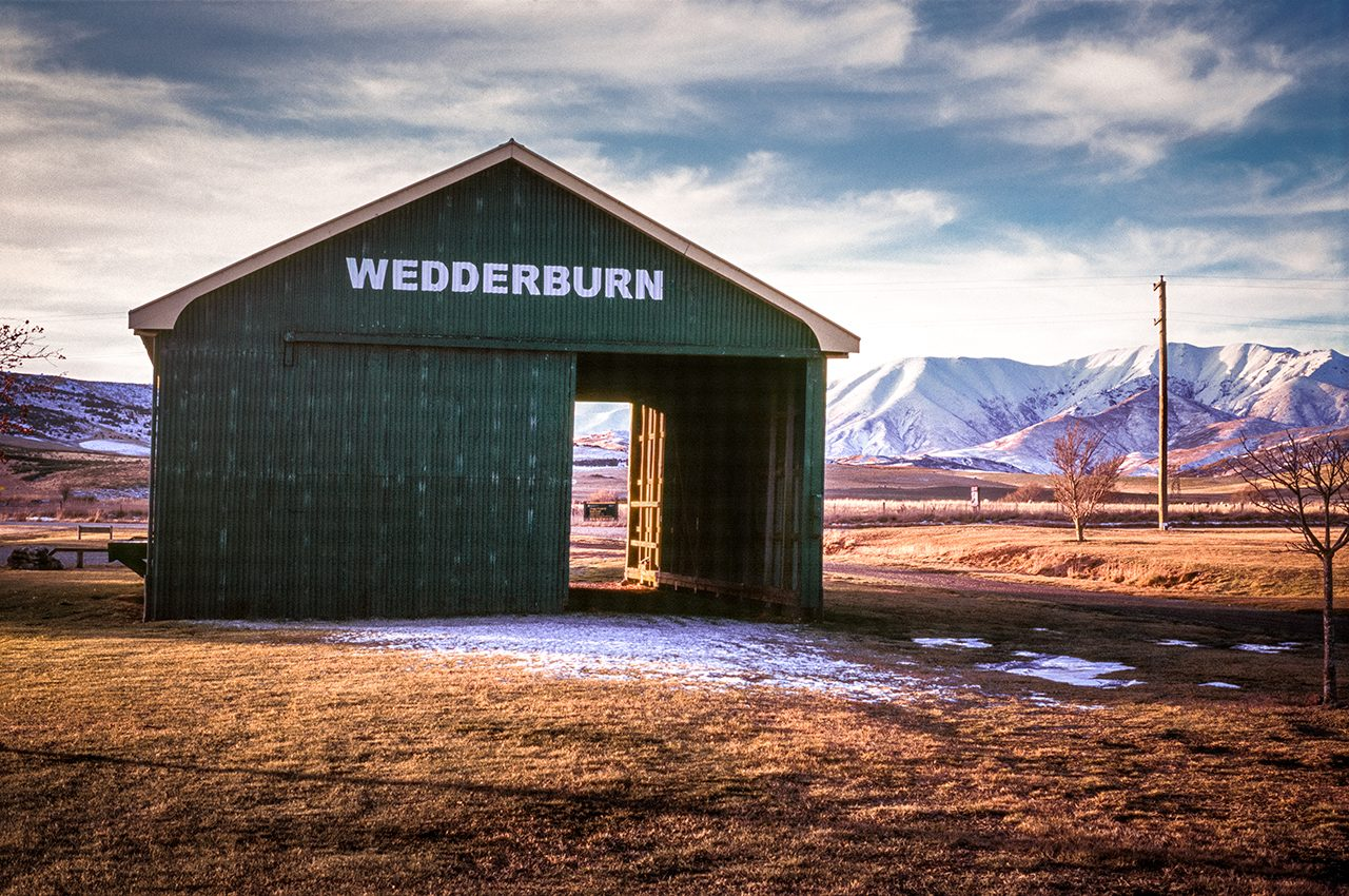 Wedderburn Goods Shed